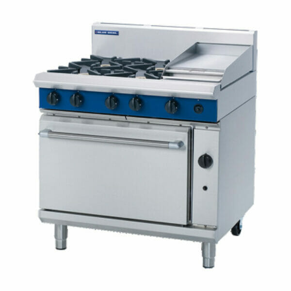 Blue Seal Gas Static oven - G506C 4 Burner Griddle - Image