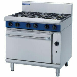 Blue Seal Gas Static oven - G506D Six Burner - Image